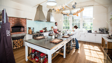 The Agrarian Kitchen Cooking School.