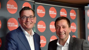 Daniel Andrews and Matthew Guy  are due to face off for the second time at the 2022 election.