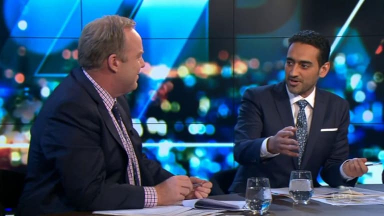 Pete Helliar and Waleed Aly discussed Robert De Niro on Tuesday night.