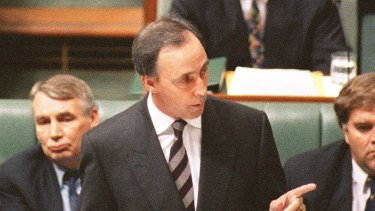 As prime minister Paul Keating pressed on with reform.