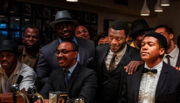 One Night in Miami is a fictional account of a meeting in 1964 between Muhammad Ali, Malcolm X, Jim Brown and Sam Cooke.