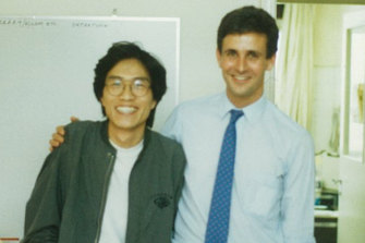 Nicholas Jose, cultural attache at the Australian embassy, who sheltered student leaders Liu Xiaobo (later a Nobel prize winner), Hou Dejian and two others in his Beijing apartment.