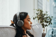 Music is also good for our soul because it's relaxing and can help us de-stress and even heal.