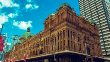 The Queen Victoria Building in Sydney will remain with Vicinity.