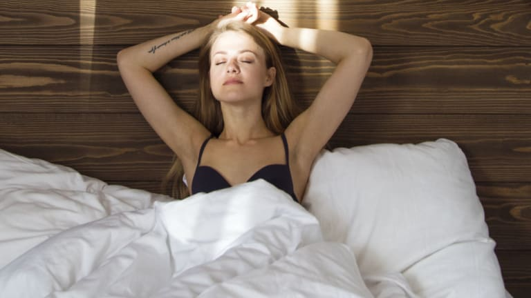 """When you sleep, your body restores and detoxifies itself, balancing your hormones and metabolism, which dictates how much energy you'll have during the day."""