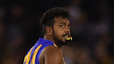 Willie Rioli is suffering early stages of stress fractures in his foot.