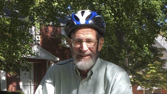 77-year-old Nobel laureate gets his own reserved campus bike rack