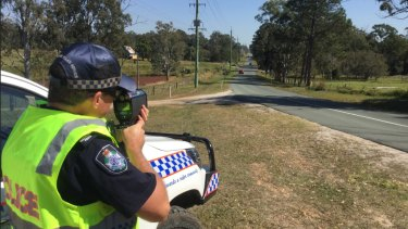 Queensland Police use a variety of speed cameras to manage traffic.