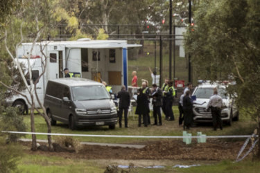 'Horrendous crime': Police plead for help after woman's body found in Royal Park