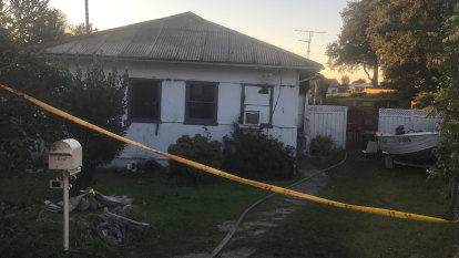 'Trapped' inside burning house: Woman dies after fire