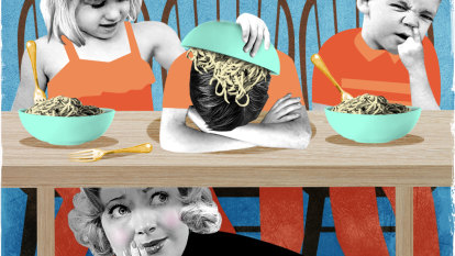 I love my kids, but I can't stand having dinner with them