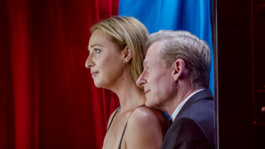Asher Keddie and Richard Roxburgh star in The Hunting.