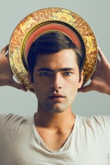 Supermodel Sean O'Pry in the distinctive photo.