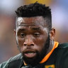 Siya Kolisi will become the first black player to captain the Springboks at a Rugby World Cup.