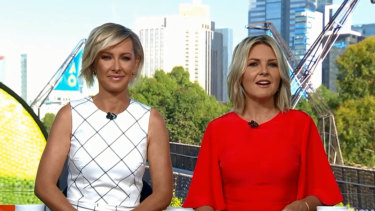 Deb Knight and Georgie Gardner on the 'new-look Today'.