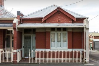 Lionel Cox's home in Greeves Street, Fitzroy.