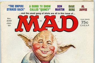 MAD magazine's Star Ward parody cover from January 1981.