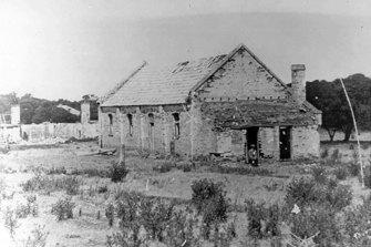 Wybalenna Aboriginal Station on Flinders Island in 1893.