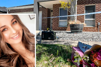 Celeste Manno (inset) whose body was found in her home in Mernda on Monday.