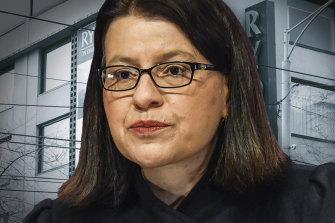 Health Minister Jenny Mikakos at the hotel quarantine inquiry.