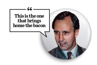 Paul Keating said his 1988 budget was the pay-off for tough economic reforms.