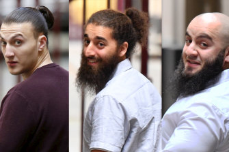 Ahmed Mohamed, Abdullah Chaarani and Hatim Moukhaiber are appealing their convictions on terrorism charges.