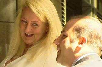 Nicola Gobbo and her former client Tony Mokbel.