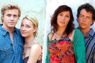 The couples: Charlie and Julia (played by Dan Wyllie and Asher Keddie) and Frankie and Lewis (Claudia Karvan and Ben Mendelsohn).