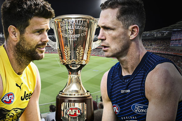 This is the first time Richmond and Geelong have met since 1967.