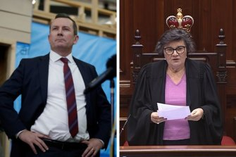 Premier Mark McGowan and Legislative Council President Kate Doust are at loggerheads over a CCC inquiry into MPs' electorate allowances.