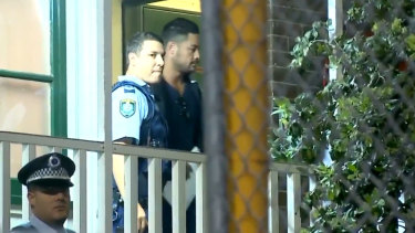 Hayne spent around 10 hours at the police station, while his bail conditions were deliberated.