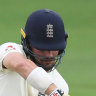 Burns falls for England as rain plays havoc with second Test