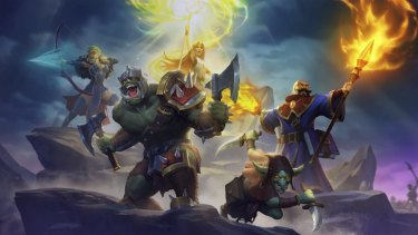 Guild of Guardians is a team-based roleplaying game where the treasures are NFTs.