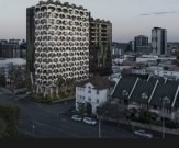 Keylin Group's proposal for two 15-storey towers at the corner of Gregory Terrace and Warry Street in Spring Hill.