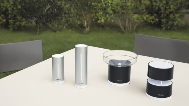 The Netatmo Weather Station, with optional extras.
