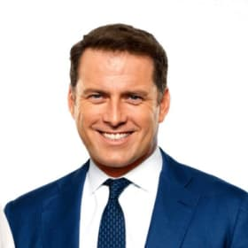 Karl Stefanovic with his Today co-host Georgie Gardner.