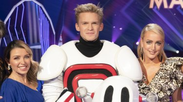 Cody Simpson was named the winner of The Masked Singer.