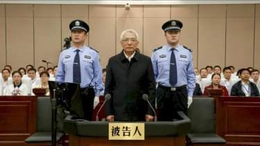 Wang Min at Luoyang Intermediate People's Court in central China's Henan Province.