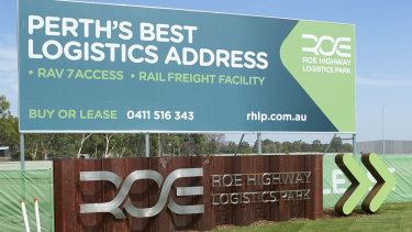The Roe Highway Logistics Park promises to aid in Perth's freight link puzzle.