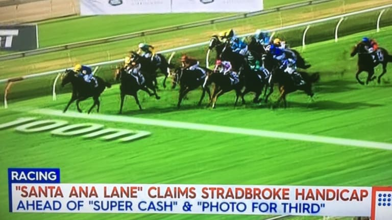 'Photo' finish in the Stradbroke.