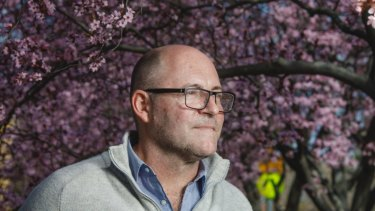Pollen expert Simon Haberle.