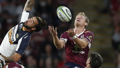 The Brumbies start fast and the Reds finish strong. Who wins the rest?