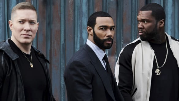 A still from season five of Power, on Stan.