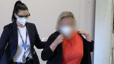 NSW Police arrested a Sydney teacher on Friday morning.