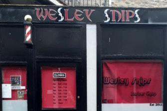 Wesley Snips barber - Rothesay, Isle of Bute, Scotland.