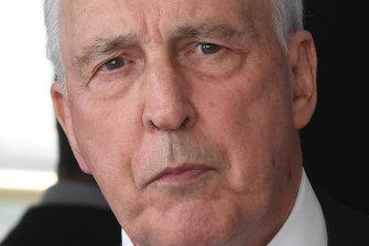 Paul Keating: a loss of Australian sovereignty.