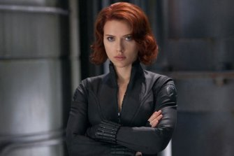 Scarlett Johansson as Black Widow. Her standalone film, from Australian director Cate Shortland, has been bumped to next May.