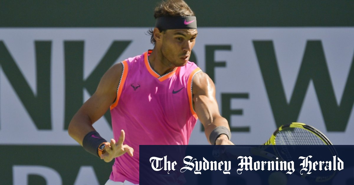 Nadal pulls out of ATP Cup but Spain get early jump on Australia – Sydney Morning Herald