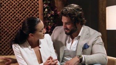 Ines and Sam plotting their affair.