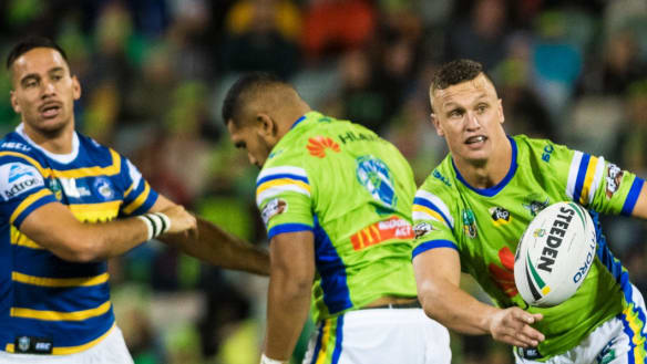 Is Wighton a piece in the Raiders halves jigsaw puzzle?